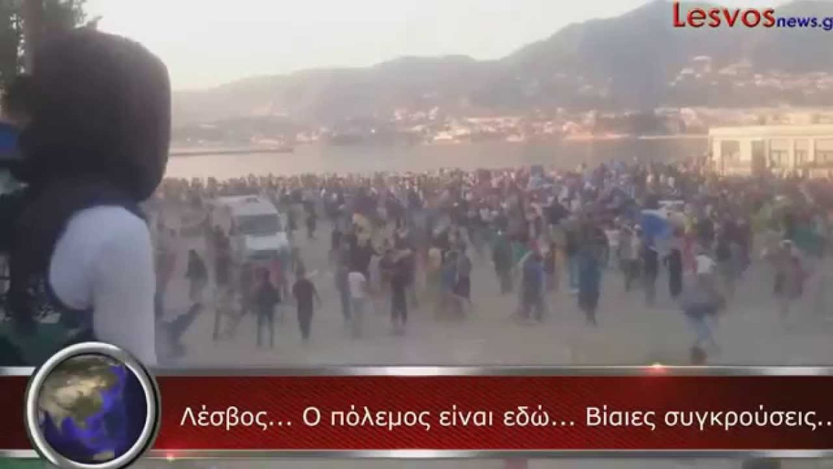 Situationen på grekiska öar är kritisk – mediamörkar